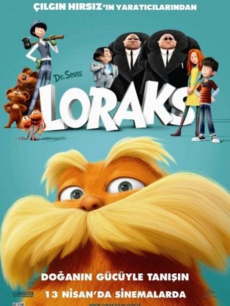 Loraks   The Lorax 2012 (izle indir) Türkçe Dublaj (Tek Parça)    Loraks   The Lorax Ted hayallerindeki kızın ilgisini çekmesini sağlayabilecek tek şeyi aramaktadır. Gencin bu şeyi bulmak için, dünyasını korumak üzere savaşan Lorax adındaki mızmız ancak bir o kadar da sevimli yaratığın hikayesini keşfetmesi gerekmektedir...