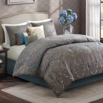 LOVE this bedding set from Kohl s  Wyndham 7 pc. 17 Best ideas about Kohls Bedding on Pinterest   Apartment bedroom