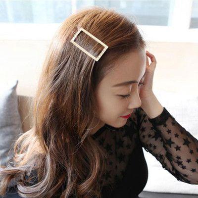Hot Girls Women Fashion Triangle Cute Hairpin Hair Clip Hair Accessories Barrette Accesorios