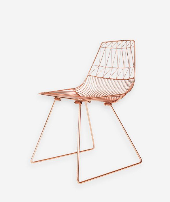 Lucy Wire Chair Mi Casa Mobilier Deco Chambre