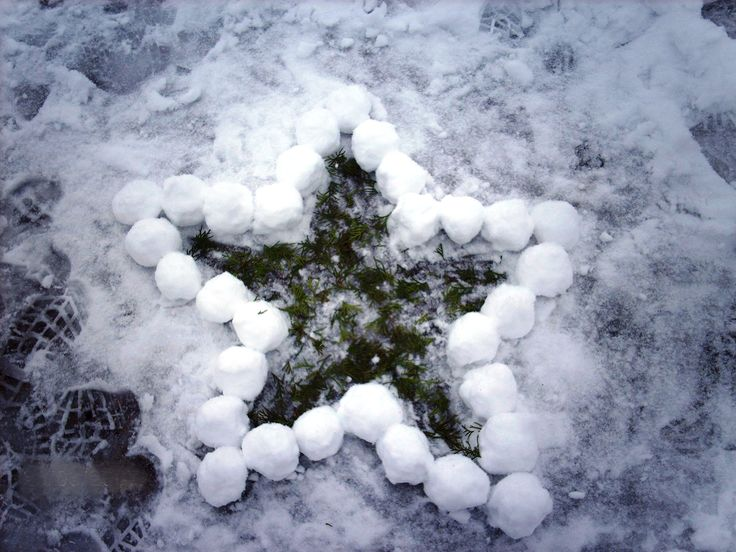 So you wanna build a snowman? This style of art has a vulnerability or fragility factor.