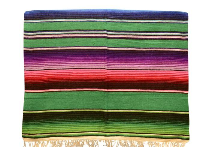 Couverture mexicain. Sarape, serape