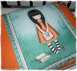 Kathy: Polštářek / Pillow Gorjuss