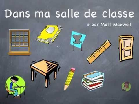 A great song for teaching French school vocabulary