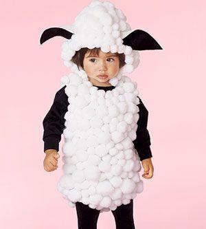 Disfraces caseros para niños.