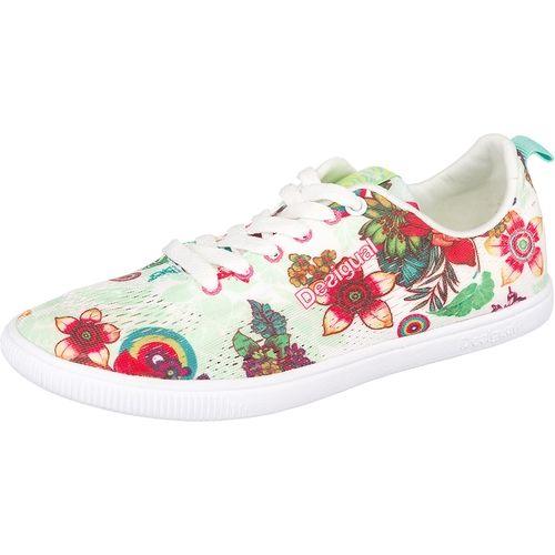 #Desigual #Damen #FUN #EVA #Sneakers #grün - Diese federleichten Desigual FUN…