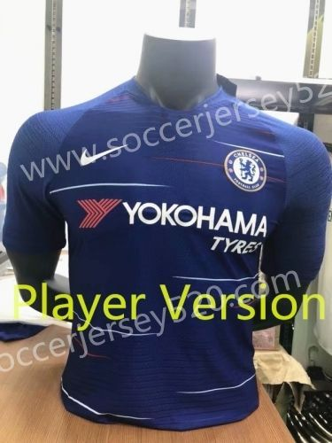 Player Version 2018-19 Chelsea Home Blue Thailand  soccer Jersey AAA ... df785a38a