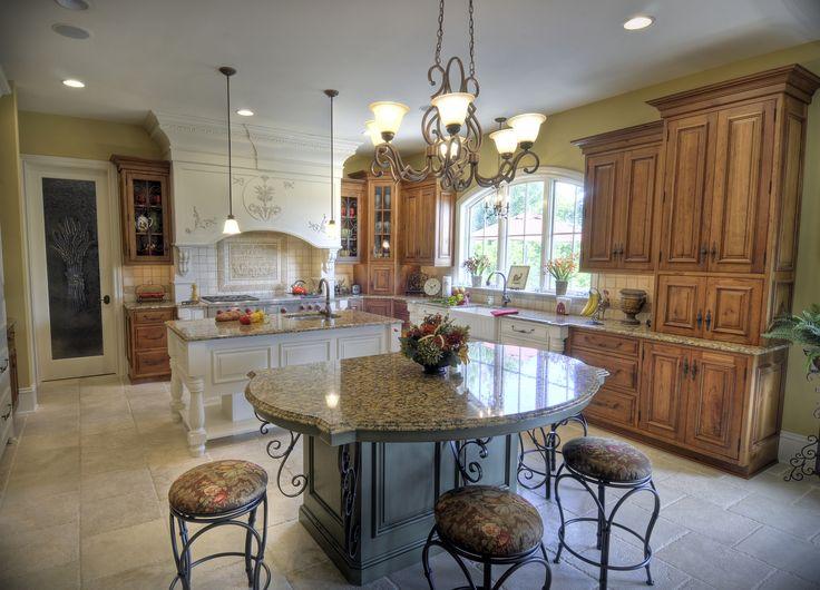 52 best images about kitchen ideas on pinterest kitchen for Curved island kitchen designs