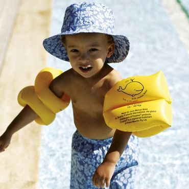 Keep J safe in the pool