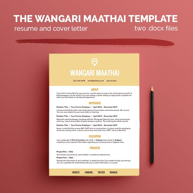 41 best creative resume images on Pinterest Resume templates - show a resume