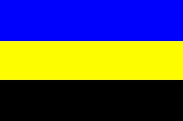 Gelre - Gelderse vlag → Er wappert er één in mijn dorp, in het Groningse Westerkwartier; doet je toch wat.