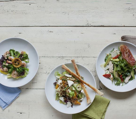 Fresh new dishes include Skinny King Prawn Salad and Chicken & Prosciutto Salad (sandwiched in between these two delights is our Super Zucca Salad for those of you who were wondering!) | Discover New Favourites with the Zizzi Spring Menu 2014 #ZizziFavourites