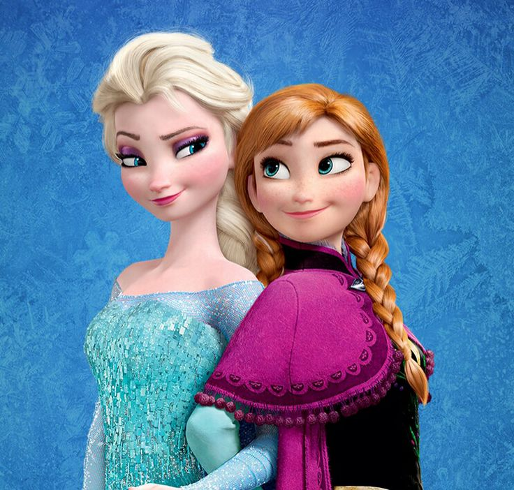 Elsa and ana from disneys frozen disneyyyy pinterest disney frozen and disney frozen - Princesse anna et elsa ...