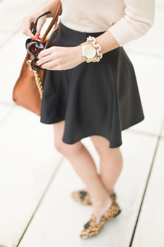 .: Leopard Loafers & Camel Tote :.