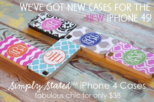 Monogrammed Otterbox Cases, Personalized Lifeproof Cases for your iPhone 5, Monogram iPad Cases and Custom Design Your Own Monogrammed Gifts at Lipstick Shades!