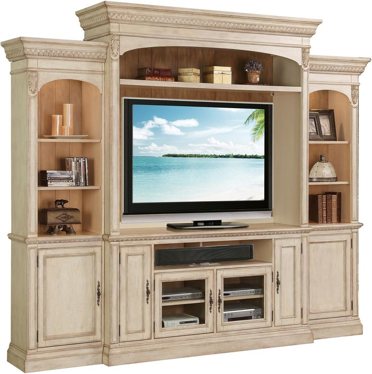 Venecia Entertainment Wall Unit by Riverside Furniture 23 in deep
