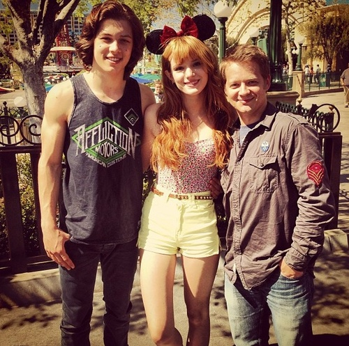 Leo Howard Muscles 2013 Leo howard, bella thorne,