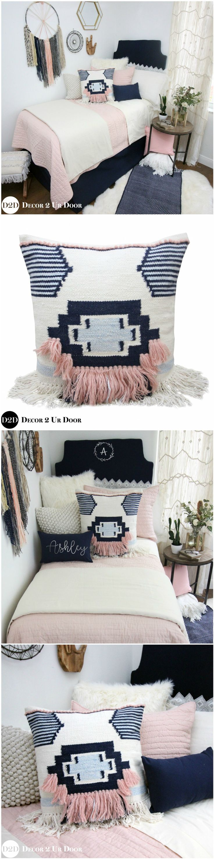 Vs pink bedding sets - We Are Swooning Over This Boho Vibe Dorm Bedding Our Best Selling Dorm Bedding Setspink