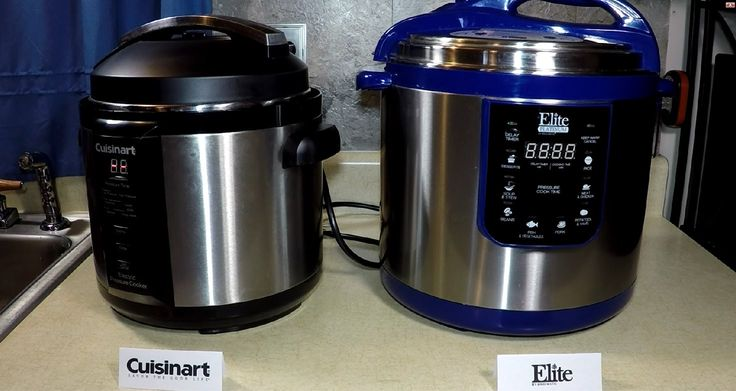 Comparing Cuisinart and Elite Pressure Cooker Review