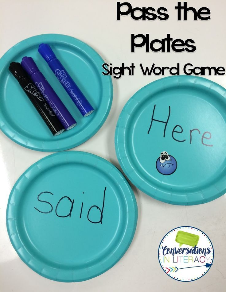 Conversations in Literacy: Sight Word Games for Active Learners