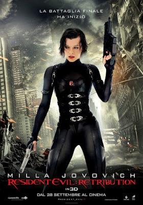 Resident Evil: Retribution Science Fiction Thriller Movie | Capcom Survival Horror Series Resident Evil - MOVIE COLLECTION