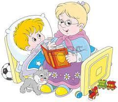 Resultado de imagen de dibujos abuela con nietos