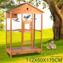 <b></b>Large<b></b> <b></b>Wooden<b></b> <b></b>Bird<b></b> <b></b>Cage<b></b>