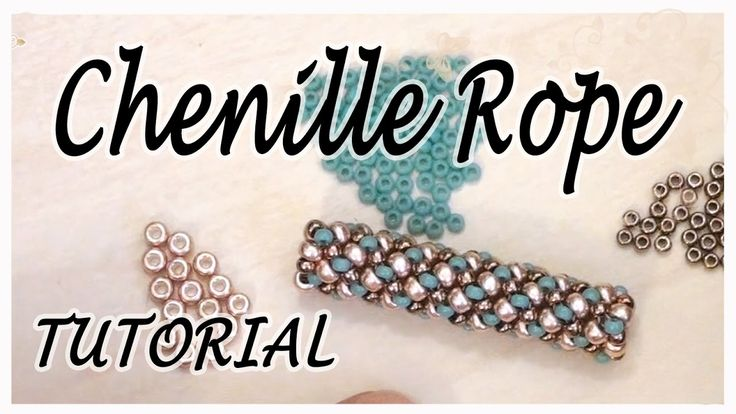 BeadsFriends: Tubular beadwork tutorial (Chenille Stitch) - A simple ide...