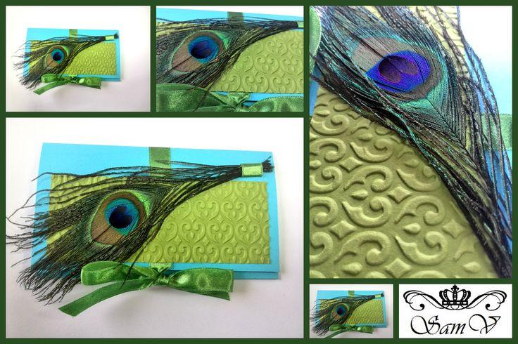 Green greeting card by SamV