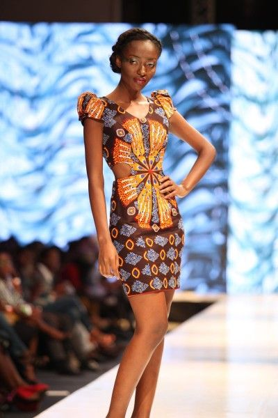 Nigerian design label Ogodor for the Glitz Africa Fashion Week 2013