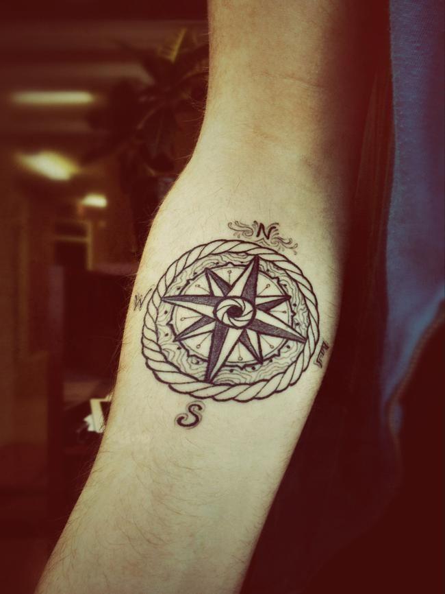 Like the compass idea.