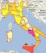 SCALZULLO - Italian Family Names Distribution - Italian Last Names Maps#.UcD8CSKWE_c.facebook