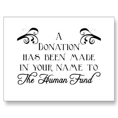 a donation has been made in your name template - Google ...