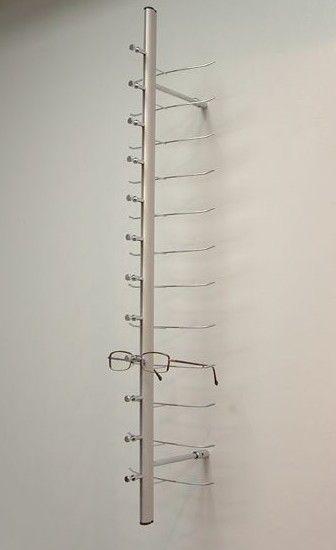0044219624e3 new Eyeglass optical frames wall 4 x 18 Rod Wall Display fits 72 frames   wall