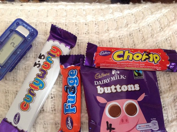 MINI TREATS Curlywurly 3.5 syns Fudge 3 syns Buttons 4 syns Chomp 3 syns