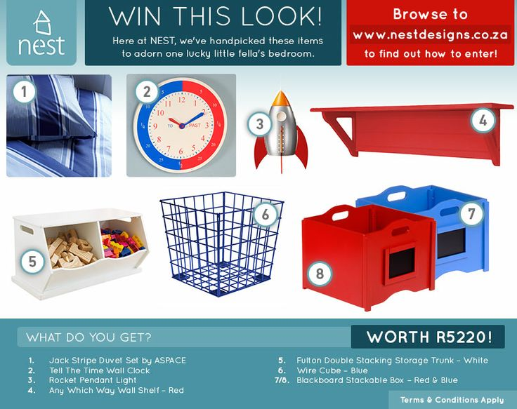 Enter now to win this look by Nest Designs!