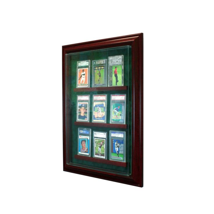 Aaa Sports Memorabilia Llc 9 Graded Card Cabinet Style Display Case 169 99 Http