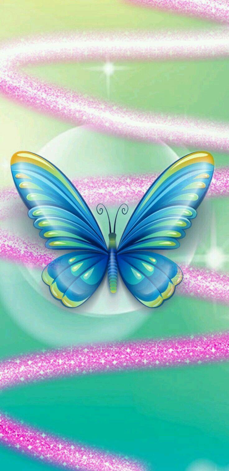 Pin By Sm Yamℓzh 1920 Sm On خلفيات Butterfly Art Heart Wallpaper Butterfly Wallpaper