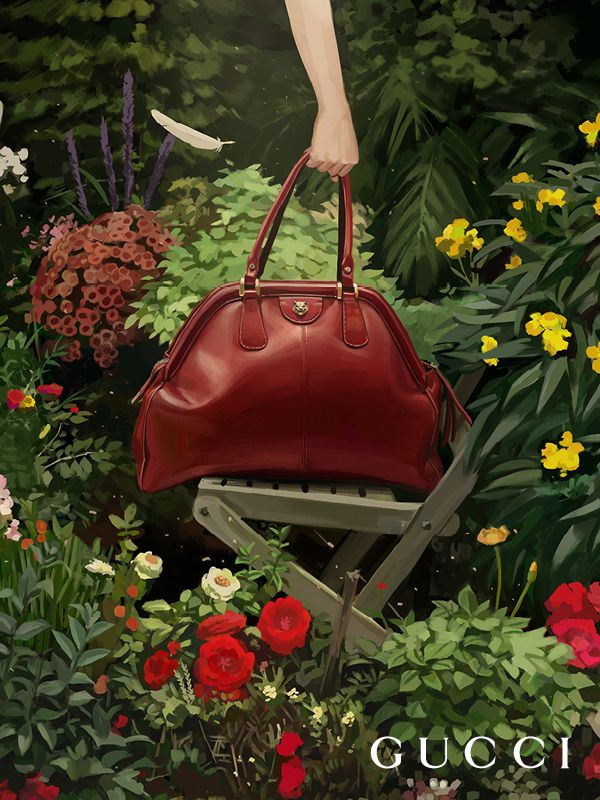 2b3505442b7 The new line of bags Gucci RE(BELLE) from Gucci Spring Summer 2018  featuring a soft construction crafted from supple natural grain leather