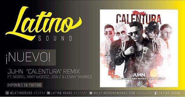 "Reposting @latinosound: ¡NUEVO! @juhnelallstar Ft. @noriel @mikywoodz @jonzmen y @lennytavareztm ""Calentura"" Remix • Tema  Disponible en @youtube  #LatinoSound #latino #latinos #latina #Music #Musica #pr #single #song #sing #artist #singer #trap"