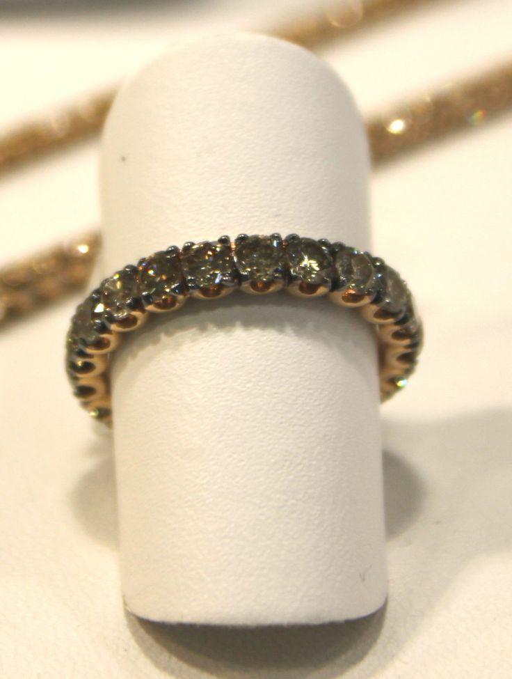 Eternelle in Oro Rosa e Diamanti Brown