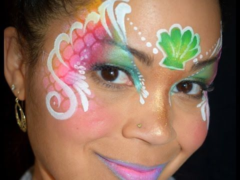 TAG Rainbow and Split Cake Face Painting Demo