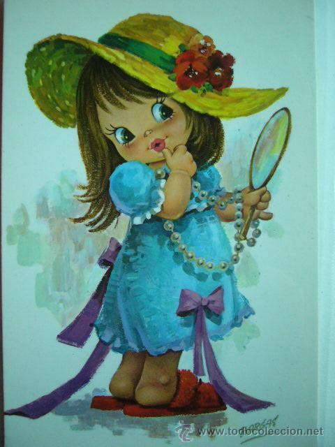 Bargas esperanza pazos pinterest pintura en tela - Telas con dibujos infantiles ...