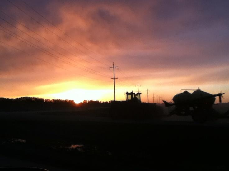 Portage la Prairie, Manitoba, Canada Beautiful sunsets!