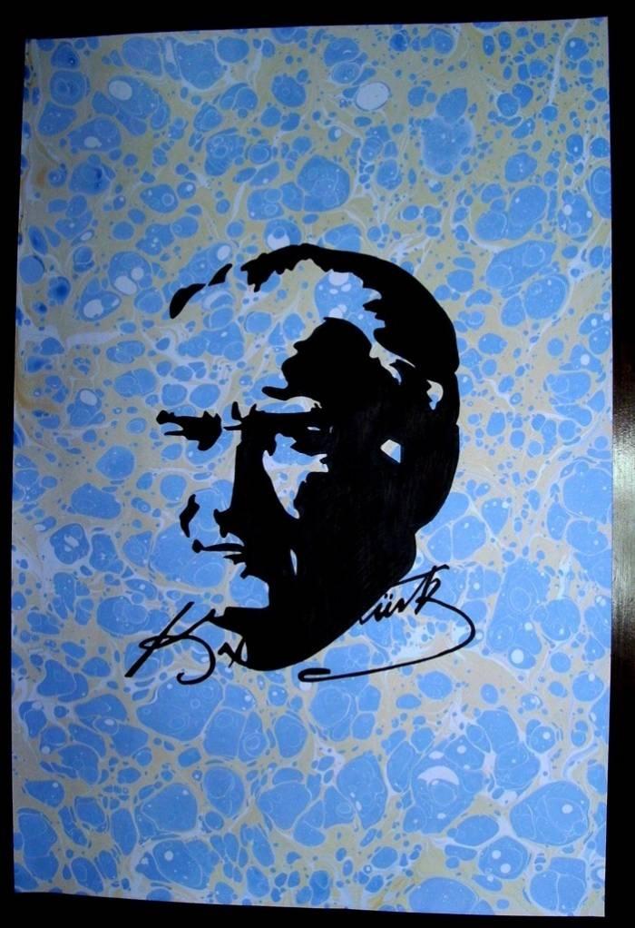 Ebru sanatı ve Atatürk