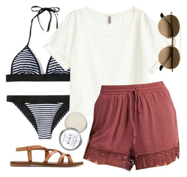 """Spencer Hastings inspired pool day outfit"" by liarsstyle ❤ liked on Polyvore featuring Abercrombie & Fitch, Charlotte Russe, Herbivore, casual, swim and ss"
