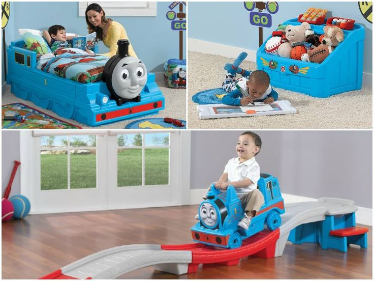 Thomas The Train Bedroom Set Giveaway