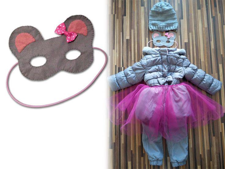 Maska pro děti myška/ Mask for child - the mouse