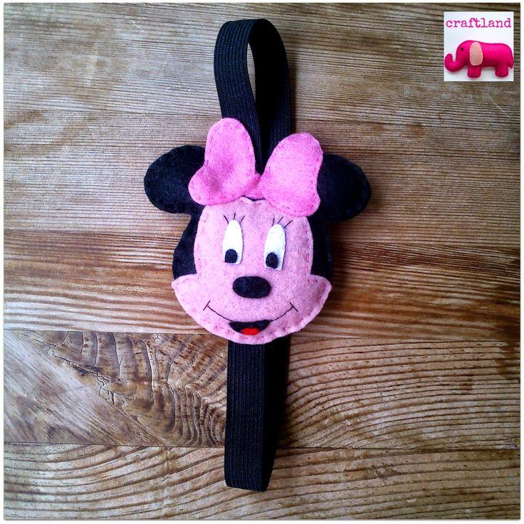 Minnie mouse hairband