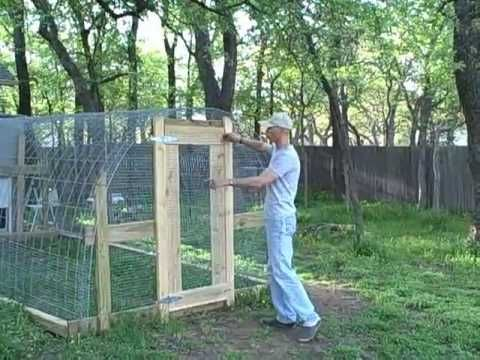 Cattle Panel Hoop House For Chicken Run With Used Plastic
